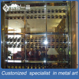 Factory Direct Sale Stainless Steel Wine Multi-Layer Display Rack