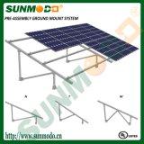 Aluminum Solar PV Ground Mounting System