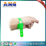 Adjustable Promotional Gift RFID Plastic PVC Vinyl Wristband