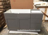 Wood Spray-Painted American Style Shaker Kitchen Cabinet Furniture