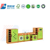 Kindergarten and Preschool Kitchen and House Play Furniture, Dress up and Role-Play Pretend Wooden Kids Furniture