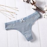 Pure Color Cotton Comfortable Women Underpants
