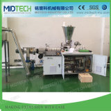 High Capacity Plastic PVC/SPVC/PE/PP/ABS/PS Conical Twin Screw Hot Die Face Cutting/Cutter Granulation/Pelletizing Recycling Machine Sjz80/156 & Sjz65/132 Price
