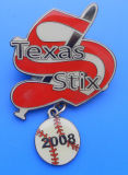 Baseball Badge, Baseball Pin (AS-LS-0323005)