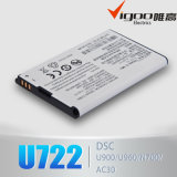 Original Battery for Zte U230 U720 U215 U600 U700 U720 U900 R750 Mf30 Li3715t42p3h654251