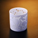 Hollow Dragonfly Tealight Ceramic Candle Holder