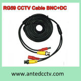 Rg 59 CCTV Video Cable with BNC DC 5m, 10m, 15m, 20m, 30m, 40m, 50m