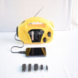 FM/Am/Sw Yellow ABS Mobile Charge Radio (HT-898)