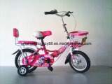 Pink Folding Kids Bicycle for Hot Sale (SH-KB006)