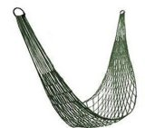 Single Person Nylon Rope Hammock