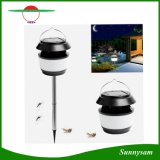 New Gadget 0.5W 80 Lumens Touchable Switch Portable Solar Garden Light Lamp