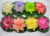 Wholesale Artificial Lotus Fake Flower Floating Lotus Factory Direct Crafts