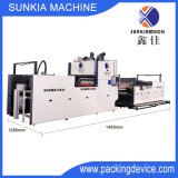 Automatic Water-Based Adhesive Film Covering Machine with Flying Knife Cutter (XJFMK-1300)