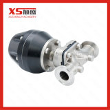 Stainless Steel SS316L Pneumatic Diaphragm Valve with Plastic Actuator