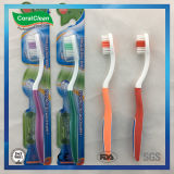 Four Colors High Quality Wholesale Adult's Toothbrush
