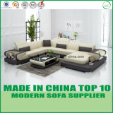 Leisure Divan Furniture Genuine Leather Sofa