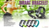 Digital Fitness Tracker Bluetooth Wrist Watch for Android Ios Phone