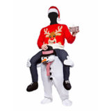 Christmas Ornaments Ride on Carry Me Costumes White Xmas Party