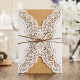 Laser Cut Lace Wedding Invitations West Cowboy Customize Invitation Cards