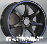 F86356 Car Wheels with Hyper Black