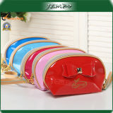 Single Handle Multi Colors PU Cosmetic Plastic Bag Price