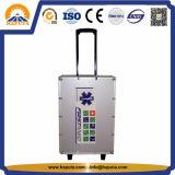 High Quality Aluminum Emergency Trolley Kit (HM-1003)