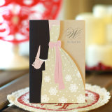 High Quality Custom Made Colorful Craft Paper Invitation