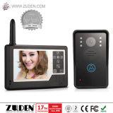 """2.4GHz Wireless Video Door Phone with Two 3.5"""" Indoor Monitor"""