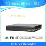 Dahua 4CH Penta-Brid 4MP Mini 1u Digital Video Recorder (XVR5104H-4M)