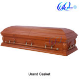 Veneer African Loved High Gloss Casket Coffin