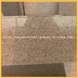 Cheap G682 Sunset Gold Misty Yellow Granite Flooring Tiles