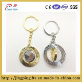 Wholesale Promotional Gift Cheap Fashion Custom Metal Rotate Keychain