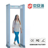Walkthrough Metal Detector with Double Infrared Visual Alarms for Visual Finance