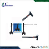 Smart Walking Stick with Dry Battery and 360 Deg Rotation Mating Four Kinds of Colorful Lamp Antiskid Base