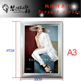 Snap Aluminum Picture Frame with LED for Exhibition