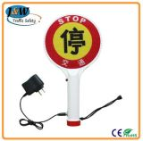 Ce Approved Solar LED Pedestrian Traffic Waring Signs