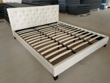 Wholesale Price Home Furniture Bedroom Storage Leather King Bed