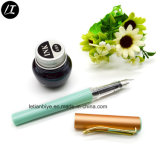 Custom Color Plastic Fountain Ink Pen Cartridge (LT-E022)
