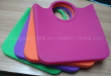Handle Fashion Lady Waterproof Beach Promotional Silicone Shopping Bag