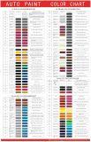 Free Auto Paint Color Chart