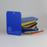 ISO9001 Manufacture Translucent Blue PMMA Board or Acrylic Sheet