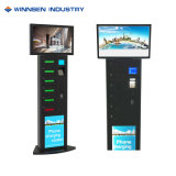 Automatic Customized Advertising Mobile Phone Charger Station