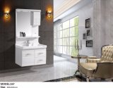 White Color Wall Mount PVC Sanitary Ware Vanity