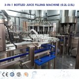 Factory Automatic Glass Bottle Juice Beverage Filling Sealing Labeling Wrapping Packing Production Machine