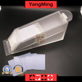 8 Deck Transparent Clear Acrylic Poker Dealer Shoe Acrylic Lunceny Playing Card Dealer Shoes Ym-Ds01-3