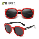 Promotion Plastic Kids Eyewear Double Bridges Rubber TPE Retro Rayband Italian Brand Cheap Fishing Polarized Sunglasses