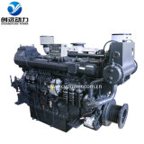 Water Cooling Sdec Sc15g Man Series Inboard Used Marine Manufacturers Machinery Diesel Engine for Boat 280-330kw