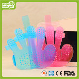 Silica Gel Massage Bathing Finger Brush (HN-PG257)