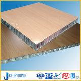 Beautiful Wood Grain HPL Aluminum Honeycomb Panels for Boat Decoration