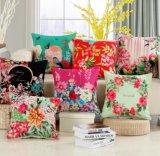Oil Painting Home Decorative Cotton Linen Cushion Case (DPF107136)